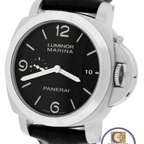 Panerai MINT Men's  PAM 312 L Luminor Marina 1950 3 Day Black...