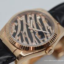 Rolex Or rose Remontage automatique 36mm occasion Datejust
