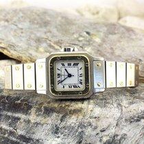 Cartier Damen Armbanduhr Santos de Cartier Automatik Stahl...