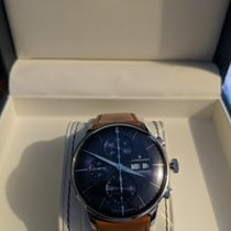 Junghans Chronograph Automatic 2018 new Meister Chronoscope Blue