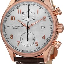 Frederique Constant Runabout Chronograph Gold/Steel Silver United States of America, New York, Brooklyn