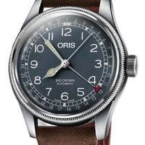 Oris 01 754 7741 4065-07 5 20 63 Steel Big Crown Pointer Date 40mm new