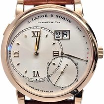 A. Lange & Söhne Rose gold Manual winding Silver Roman numerals 41.9mm pre-owned