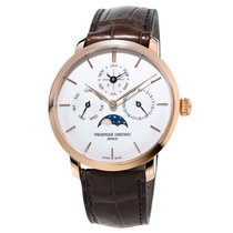 Frederique Constant Manufacture Slimline Perpetual Calendar new Automatic Watch with original box and original papers FC-775V4S4