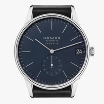 NOMOS Orion Neomatik Steel 40,5mm Blue No numerals