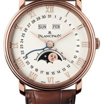 Blancpain new Automatic Small seconds 40mm Rose gold Sapphire crystal