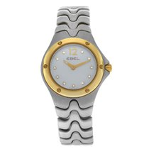 Ebel Sportwave Gold/Steel 26mm Mother of pearl Arabic numerals United States of America, New York, New York