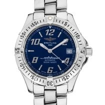 Breitling Colt Automatic Steel 38mm Blue Arabic numerals United States of America, New York, New York