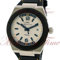 IWC Ingenieur Automatic Climate Action, White Dial, Black...