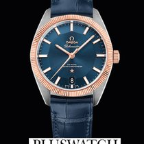 Omega Globemaster Omega Co-Axial Master Blue Dial 39mm R