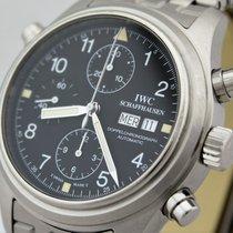 IWC Ref. 3713 Fliegeruhr Doppelchronograph von 2003 Box und...