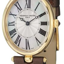 Frederique Constant Classics Art Deco Gold/Steel 24.5mm Silver United States of America, New York, Brooklyn