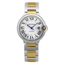 Cartier Ballon Bleu 36mm new Automatic Watch with original box and original papers W2BB0012