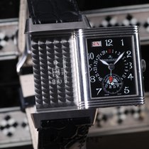 Jaeger-LeCoultre Reverso Day Date Grande Taille  White Gold