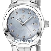 TAG Heuer Link Lady new 2021 Quartz Watch with original box wbc1313.ba0600