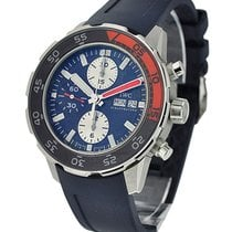 IWC IW376704 Aquatimer Chronograph in Steel with Orange and...