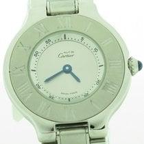 Cartier Must 21 Stainless Steel Round Ladies Quartz 27mm Watch