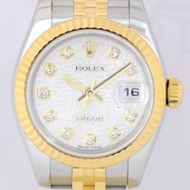 Rolex Datejust Lady Stahl/Gold Jubilé  Diamonds Sonderblatt...
