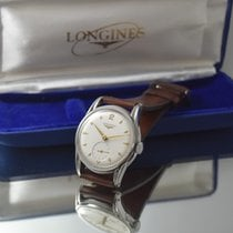 Longines rare  AUTOMATIC stainless steel VINTAGE WATCH + BOX