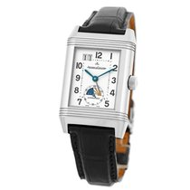 Jaeger-LeCoultre Stainless Steel Grande Reverso GMT Dual Time...