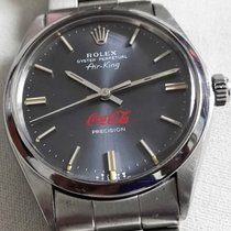 Rolex Air King Precision Rare Coca-Cola  Red  Write Dial 1975