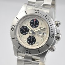 Breitling Steel Automatic 44mm new Superocean Chronograph Steelfish