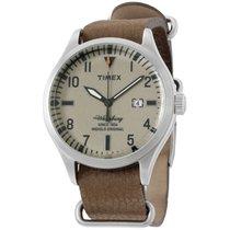 Timex 42mm Quartz new Brown