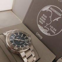 Oris Aquis Date Steel 43mm Blue No numerals