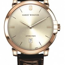 Harry Winston new Automatic 42mm Rose gold Sapphire Glass
