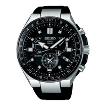 Seiko Astron GPS Solar Chronograph new 2019 Automatic Watch with original box and original papers SSE169J1