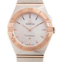 Omega Constellation Gold/Steel 25mm White
