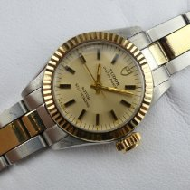 Tudor Oyster Prince Gold/Steel 23mm Champagne No numerals