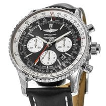Breitling Navitimer Rattrapante Steel 45mm Black United States of America, New York, New York