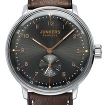 Junkers Steel 40mm Manual winding 6030-2 new