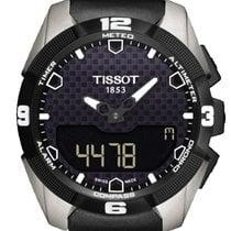 Tissot Titanio Cuarzo Negro Sin cifras 45mm nuevo T-Touch Expert Solar