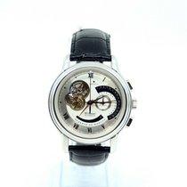 Zenith Platinum Automatic Silver Roman numerals 45mm pre-owned El Primero Chronomaster