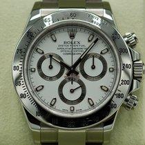 Rolex Daytona Steel 40mm White No numerals United States of America, Massachusetts, Pittsfield