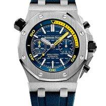 Audemars Piguet Royal Oak Offshore Diver Chronograph Acier 42mm Bleu