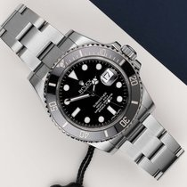 Rolex Submariner Date occasion 40mm Noir Acier