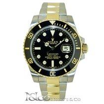 Rolex Submariner Date Two Tone with Original Diamond Dial