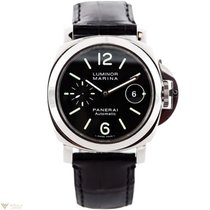 パネライ (Panerai) Luminor Marina Stainless Steel Men's Watch
