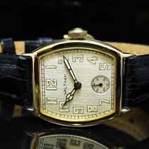Waltham Or jaune 27mm Remontage manuel occasion
