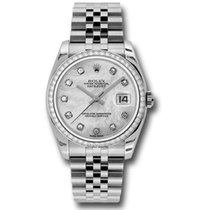 Rolex Datejust Steel 36mm Mother of pearl United States of America, Pennsylvania, Holland