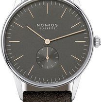 NOMOS Orion 1989 Steel 38mm Grey United States of America, New York, Airmont