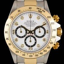 Rolex Steel & Gold White Dial Zenith Movement  Daytona...