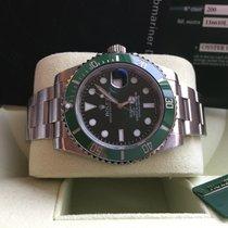 Rolex Submariner Date 116610LV 2010 Box Papers HULK