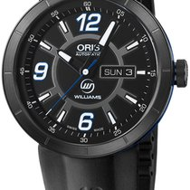 Oris TT1 Williams Automatic Steel Rubber Mens Watch DOW &...
