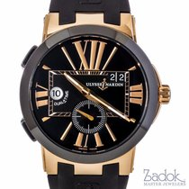 Ulysse Nardin 18k Rose Gold  Executive Dual Time Automatic...