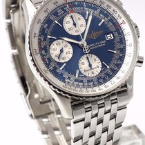 Breitling Old Navitimer II A13322 Blue Dial Chronograph...