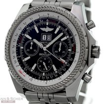Breitling BENTLEY Motors Big Date Ref-A44364 Stainless Steel...